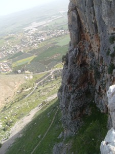 The Cliffs of Arbel and the Valley of the Doves.