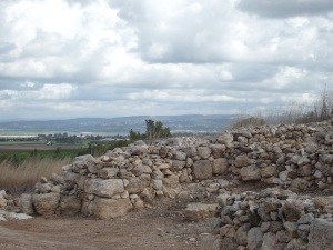 Ruins on Megiddo.