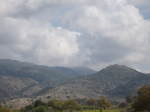 The Golan Heights.