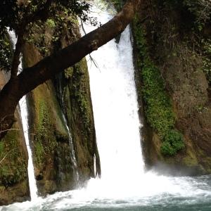 Banias Falls.
